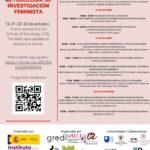 V Jornadas de Metodología de Investigación Feminista: Repensando los procesos de producción de conocimiento en tiempos de (post)pandemia