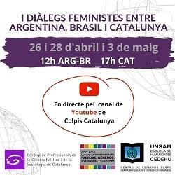 I Diálogos Feministas entre Argentina, Brasil y Catalunya // On-line