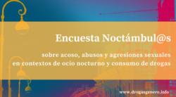 Encuesta Noctámbul@s 2018 sobre acoso, abusos y agresiones sexuales en espacios de ocio nocturno [cast y cat]
