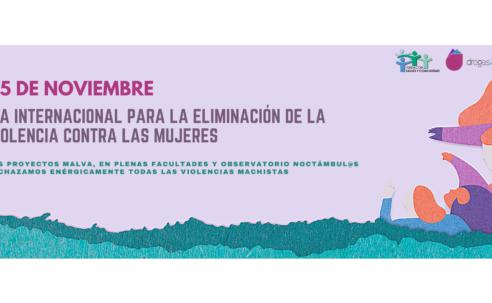 25 de noviembre: Día Internacional para la Eliminación de la Violencia contra las Mujeres