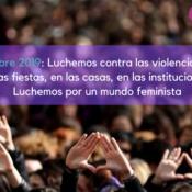 25N: Contra las violencias machistas, por un mundo feminista