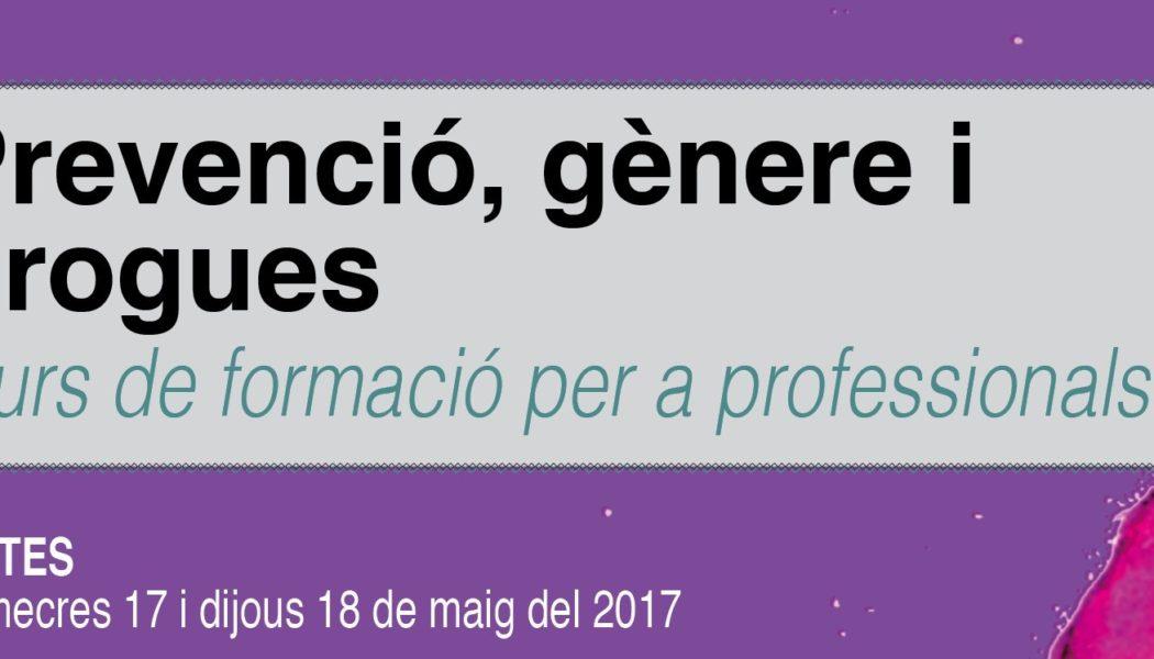"""Curso """"Prevención, género y drogas"""". 17 y 18 mayo. Palma (Mallorca)"""