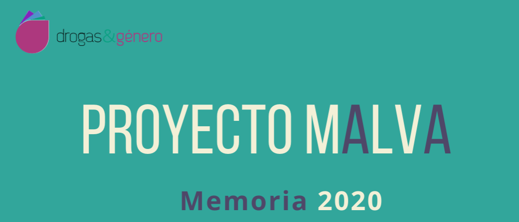 Malva 2020: un año de trabajo en #DrogasYGénero