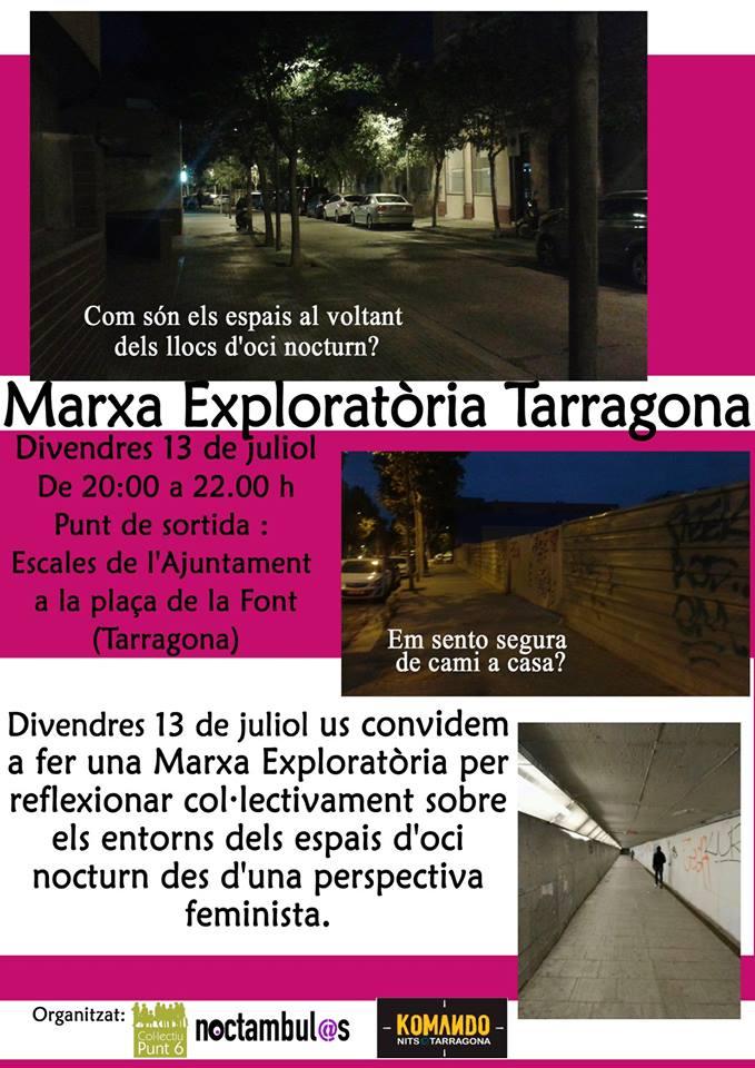 Marcha exploratoria - Tarragona