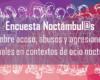 Encuesta Noctámbul@s sobre abusos, acoso y agresiones sexuales en espacios de ocio nocturno [cast y cat]