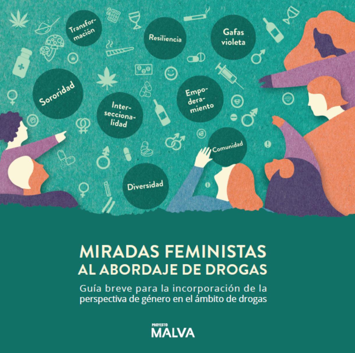 MIRADAS FEMINISTAS AL ABORDAJE DE DROGAS. Guía breve para incorporar la perspectiva de género en el ámbito de drogas