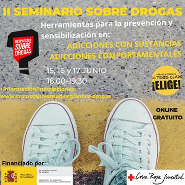 II Seminario Sobre Drogas de Cruz Roja Juventud - on line