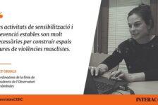 """""""Violències sexuals en els espais d'oci i festius"""": Entrevista a la nostra companya Ivet Oriols i a Carla Alsina"""