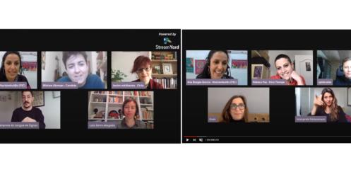 Vídeos y presentaciones Jornada Noctámbul@s: #GéneroyTIC – Violencias sexuales en entornos digitales