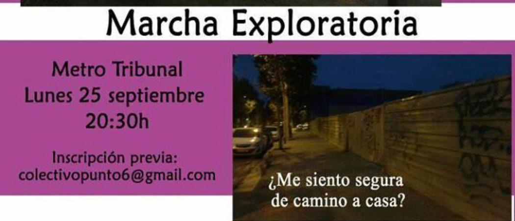Marcha exploratoria por espacios de ocio nocturno con el Col.lectiu Punt 6 en Madrid