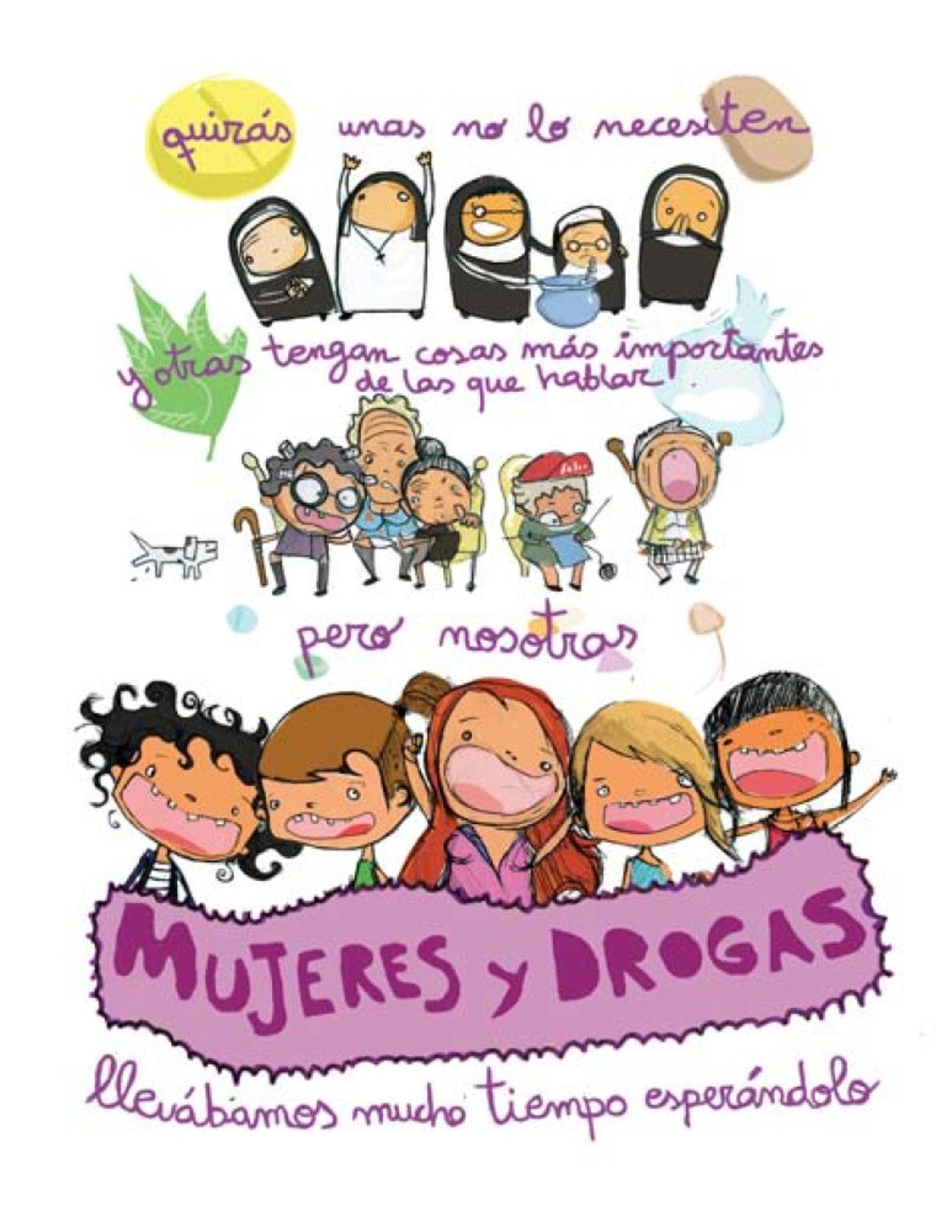 Mujeres y drogas en la fiesta