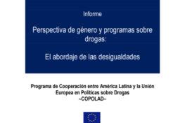 Perspectiva de género y programas sobre drogas: El abordaje de las desigualdades