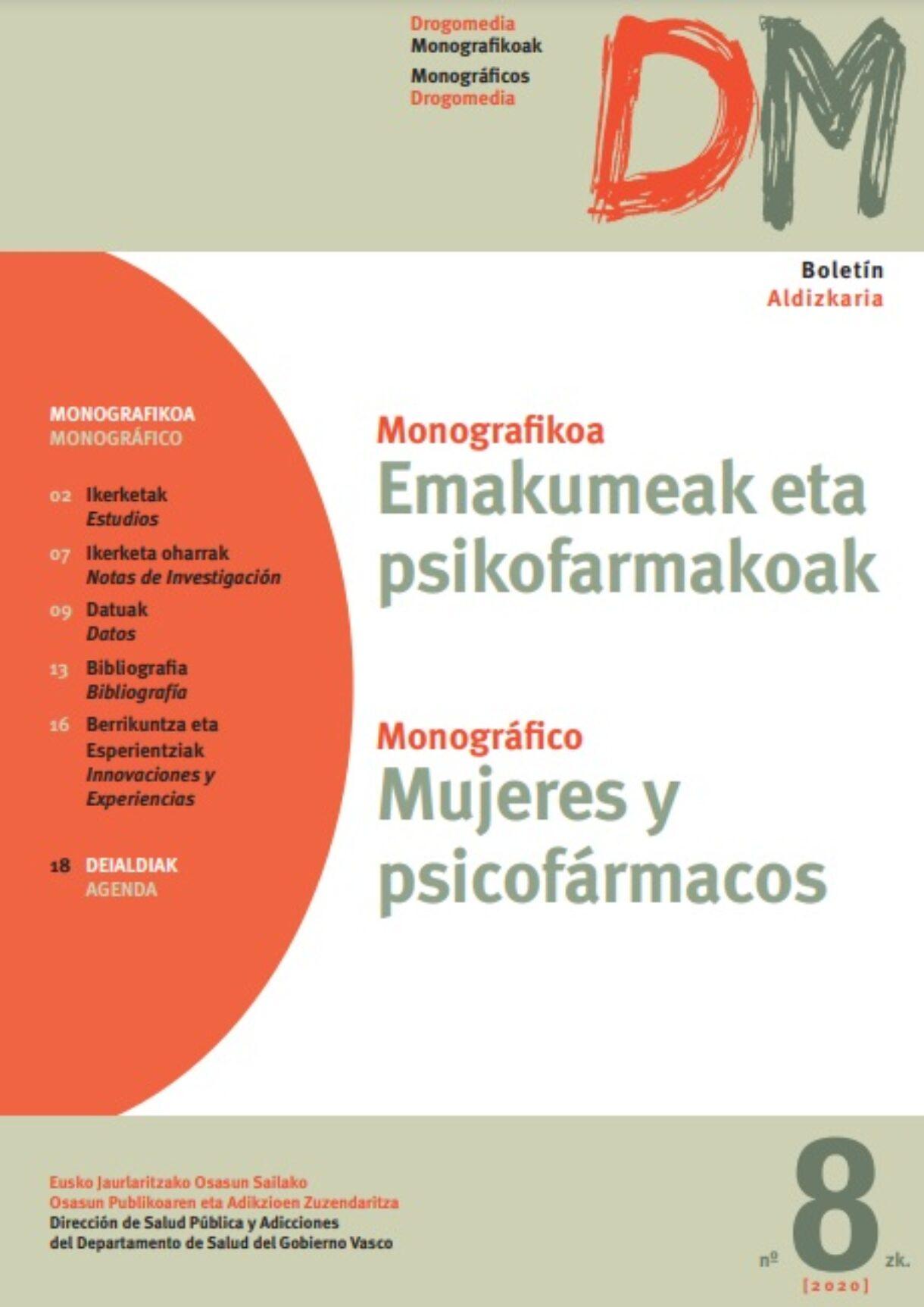 Monográfico «Mujeres y Psicofármacos»