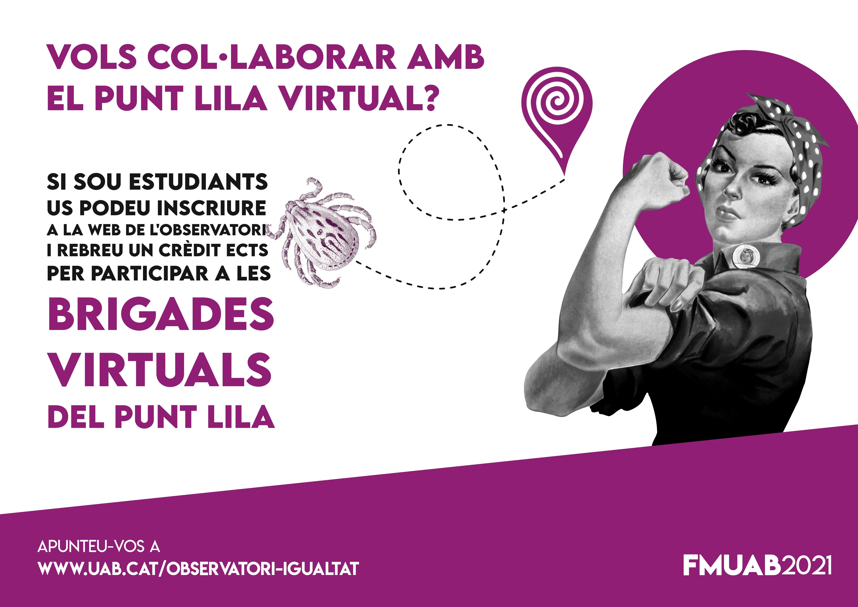Eines per col·laborar al punt lila virtual a la FMUAB