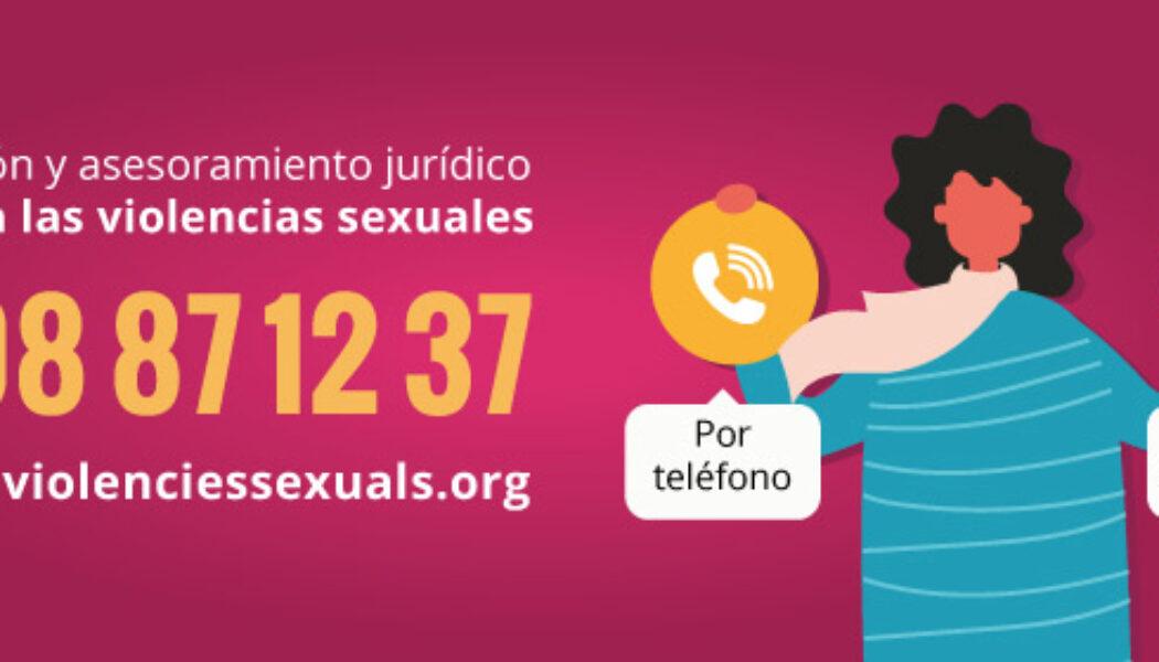 Nou servei d'Atenció i Assessorament jurídic gratuït contra les violències sexuals