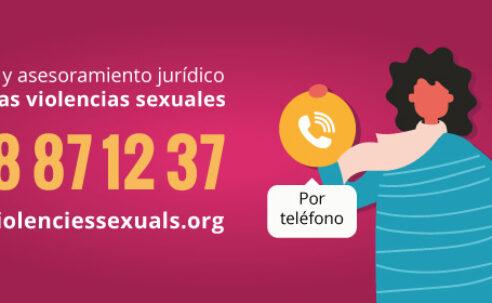 Balance positivo del servicio de FSC de atención telefónica y asesoramiento jurídico gratuito contra las violencias sexuales