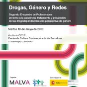 Drogas, Género y Redes // 10 de mayo//  Jornada en Barcelona