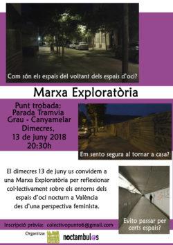 Marcha exploratoria – Valencia