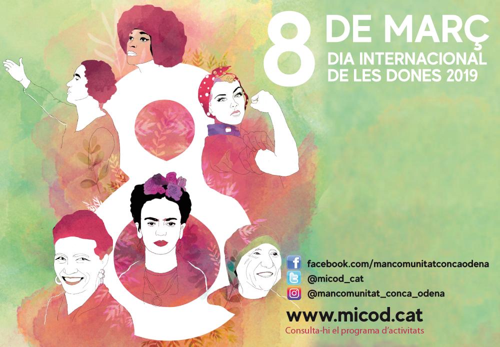 """Participem en el """"Març Feminista"""" organitzat per la Mancomunitat de la Conca d'Òdena"""