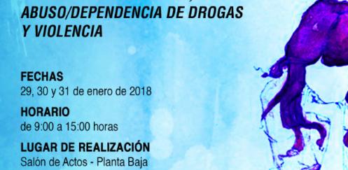 """Curso """"Perspectiva de género, abuso/dependencia de drogas y violencia"""" – Madrid, 29-31 enero 2018"""