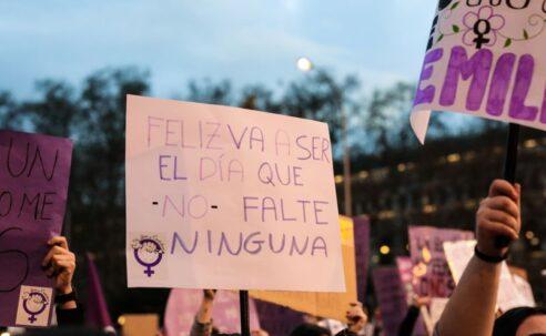 Mujeres con consumos problemáticos de drogas, también presentes el 8 de marzo