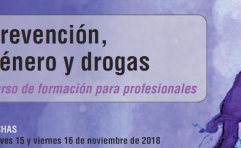 """Curso """"Prevención, género y drogas"""" / """"Prebentzio, Genero eta Drogak"""" – Pamplona / Iruña"""