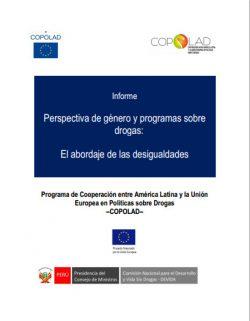 Informe COPOLAD: Perspectiva de Género y Programas Sobre Drogas