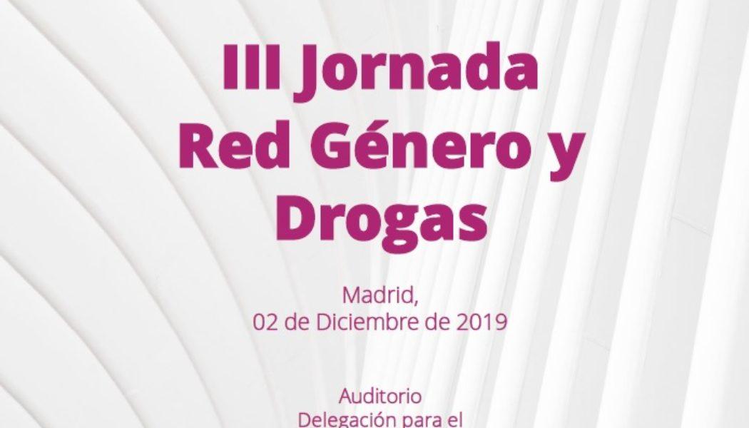 III Jornada Red Género y Drogas
