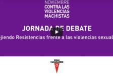 """Vídeos Jornada """"Tejiendo resistencias frente a lasViolencias Sexuales"""", 23/11/18 en Rivas Vaciamadrid"""